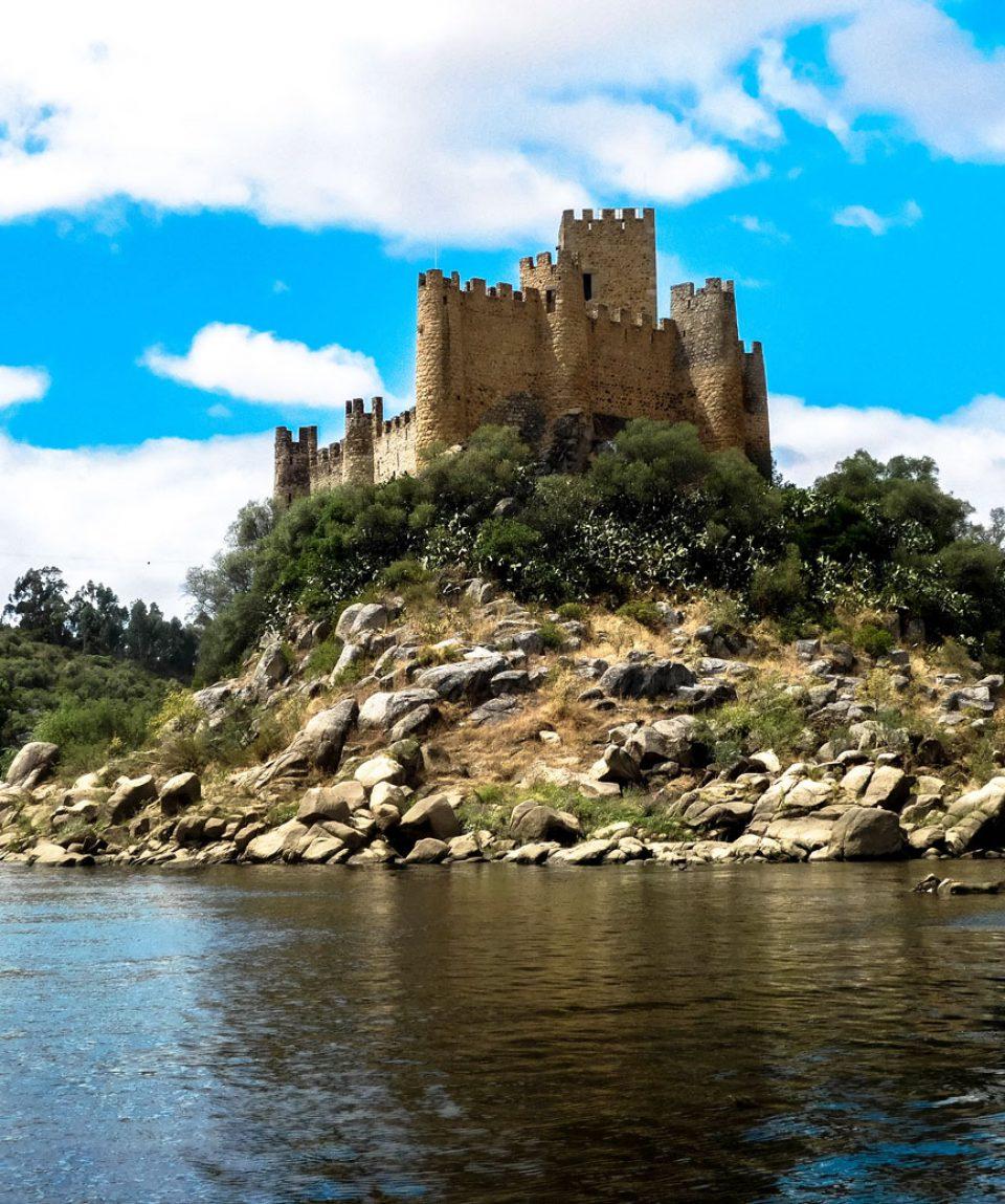 Castelo de Almourol - Templários - Templar Knights