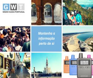 Radio guia de turismo, visit Portugal, Radio Guides, aluguer, alquiller, rent